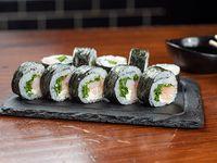Maki roll de langostinos (10 piezas)