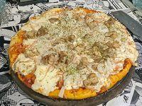Pizza pollo 8 porciones