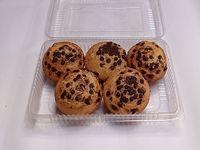 Quequito vainilla chip de chocolate 5 unidades