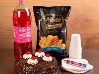 Combo Celebración Genovesa Mediana + Mixto Típico Colombiano