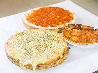 Promo 7 - Pizzeta + pizzeta muzzarella + fainá