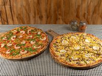Promo 2 - 2 pizzas especialidades familiares