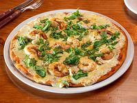 23 - Pizzeta muzzarella con camarones