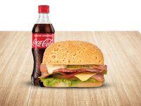 Sandwich 6 Carnes Gaseosa 400 ml