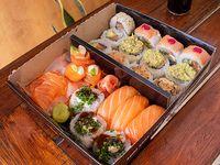 Combinado de salmón