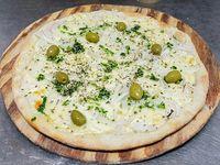 4 - .Pizza fugazza con queso