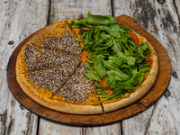 Super pizza proteica hum hum