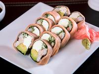 Roll de salmón sin arroz (10 bocados)