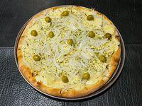 4- Fugazza con queso