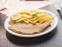 Promo 2 - Milanesa mediana al plato + papas fritas