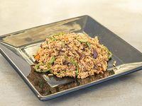 Wok de vegetales y arroz
