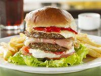 Hamburguesa doble carne completa
