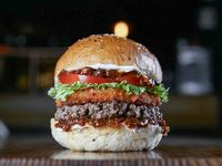 Cheese bomb burger
