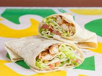 Wrap de pollo teriyaki