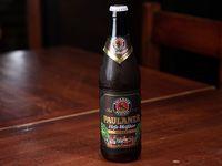 Cerveza Paulaner dunkel trigo 500 ml