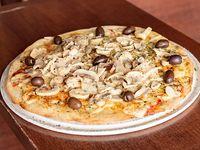 Pizza hongos