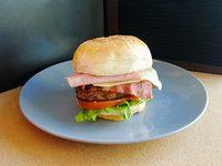 Promo hamburguesa Divino tocino más bebida