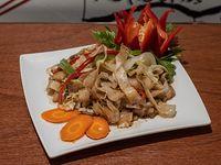Chao pan tiao con verduras