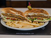 Sandwich de milanesa de ternera