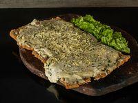 Milanesa con roquefort y jamón