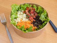 Bowl vegetariano con ingredientes a elección + 1 salsa