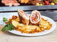 Promo - Pamplona de pollo con papas fritas