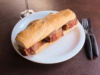 Sándwich especial de bondiola