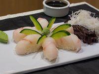 Nigiri de pescado blanco
