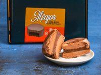 Alfajor helado Nutella caja 8 unidades