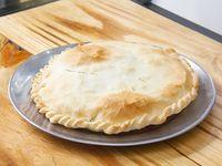 Tarta individual de jamon y queso