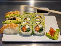 Tabla de sushi - 40 Piezas mixtas