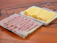 Promo - 1/4 jamón + 1/4 queso Verónica