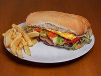 Sándwich de lomo súper Nicos
