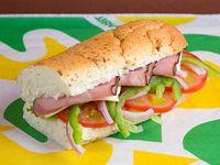 Subway de jamón de cerdo (15 cm)