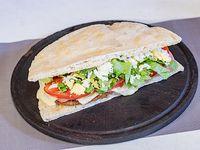 Sándwich de milanesa super