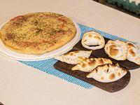 Promo mama 2 - Pizza muzzarella + 6 empanadas