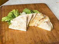 Quesadilla de panceta y queso (3 unidades)