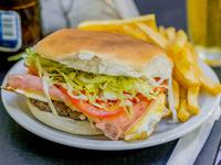 Sándwich de hamburguesa A Mi Nooo especial