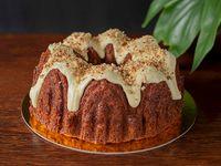 Porción de Torta Zanahoria Nueces y Almendras