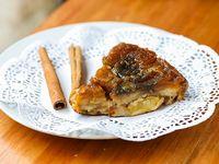 Crumble de manzana con capa de avena, aceite de coco Y nueces