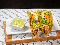 Tacos de cerdo (2 Unidades)