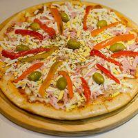 Pizza primavera especial (4 porciones)