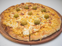 Pizza provolone
