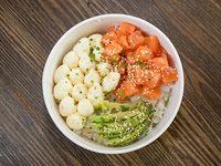Shirashi de salmón