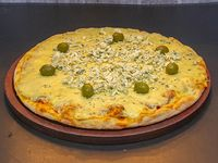 Pizza al roquefort personal