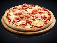 Pizzeta muzzarella con 3 gustos
