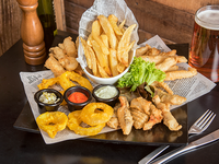 Tabla Fish And Chips (3 - 4  personas)