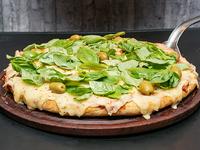 Pizza Margarita al molde