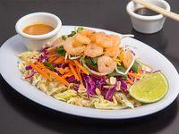 Thai salad de camarón