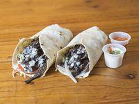 Shawarma de carne de ternera (2 unidades)